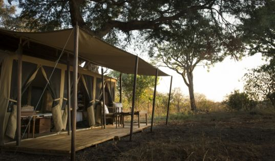 Large, airy, spacious and classic. Our six tents at Chada Katavi lie deep in the heart of Katavi National Park.