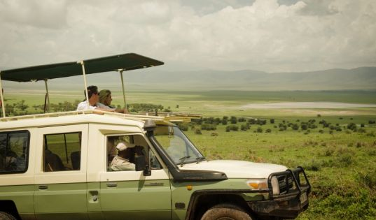 Epic views and endless highland vistas from Entamanu Ngorongoro.