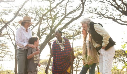 Discover Maasai traditions and culture beneath the canopy of Acacia Lahai trees at Entamanu Private.
