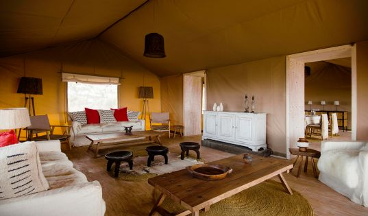 As is our habit we have sourced local for our newest camp Entamanu Ngorongoro. The entire camp is made up with interiors made by talented local Tanzanian artisans.
