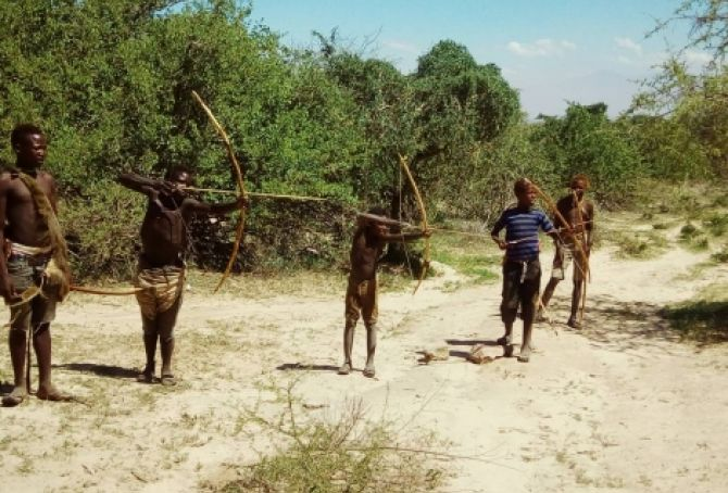 The Hadzabe tribe