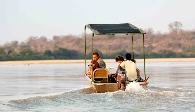 Heading out by boat in the Selous is a completely new experience and one of our favorite ways to explore.