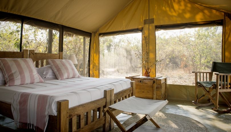 Everything you need, nothing  that you don't in our gorgeous airy tents at Kigelia Ruaha.