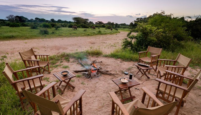 Campfire views from Kigelia Ruaha.