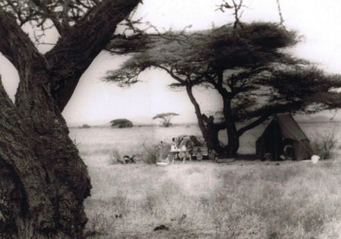 Katavi - early Chada camp-site