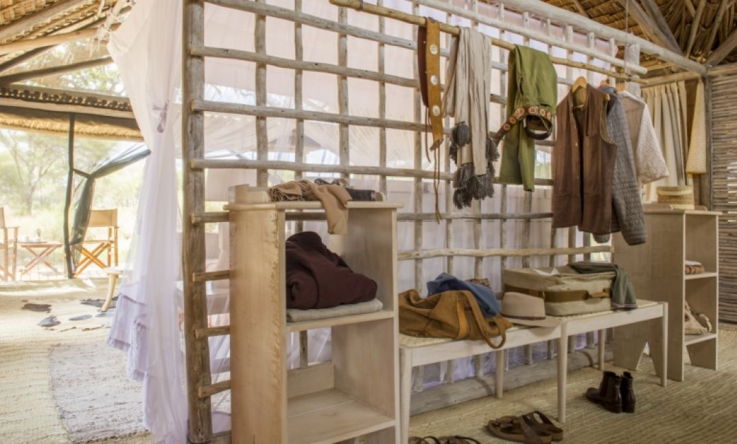 Heaps of space for all of your safari wears at Kuro Tarangire.