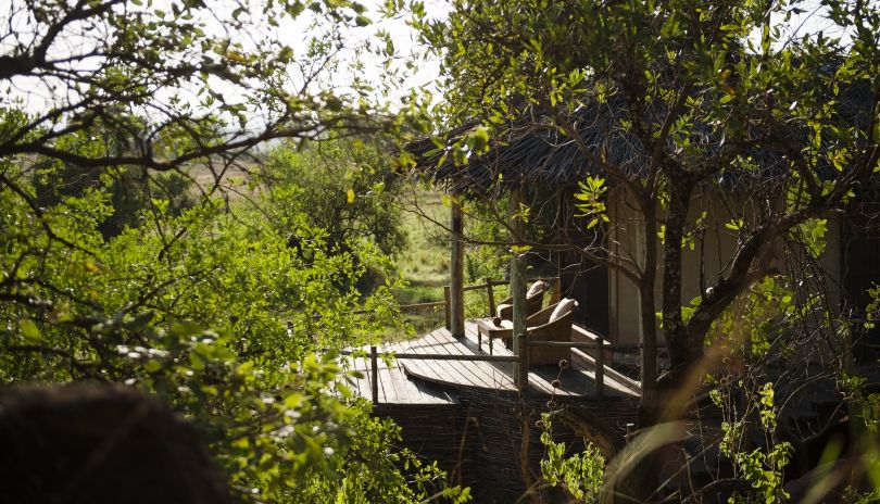 Lamai Private is tucked away along the edge of the plains at the base of the Kogakuria Kopje.
