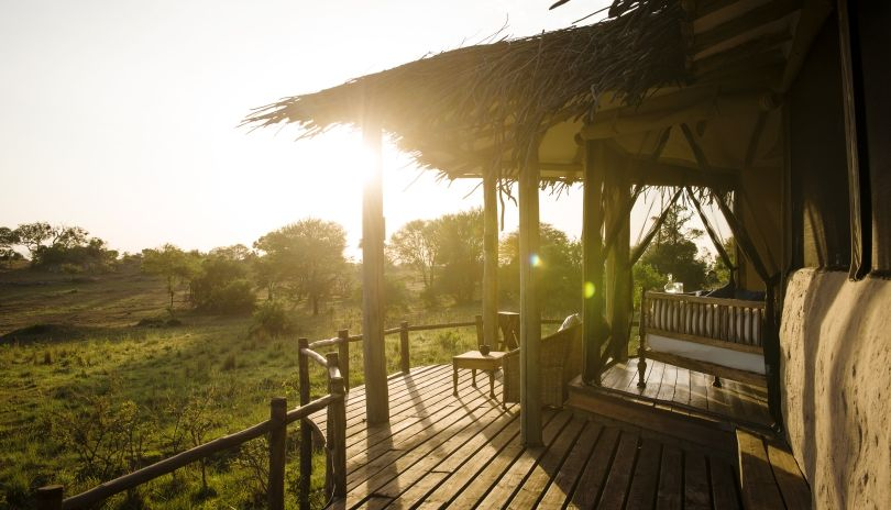 Dawn over the Serengeti from our exclusive little Lamai Private.