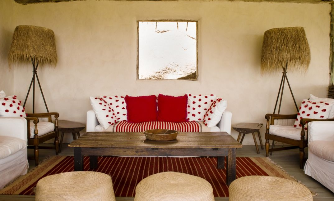 All the interiors at Lamai Serengeti have been designed and hand made in East Africa by talented local artisans.