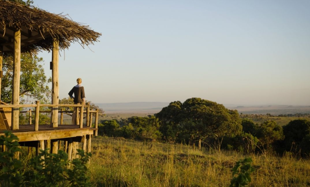 Each of the rooms at Lamai Private have endless views over the Serengeti.