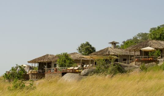 Mkombe's House Lamai. The only private safari house within the Serengeti National Park.