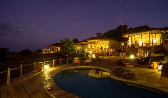 Mkombe's House by night, just as magical as it is by day.