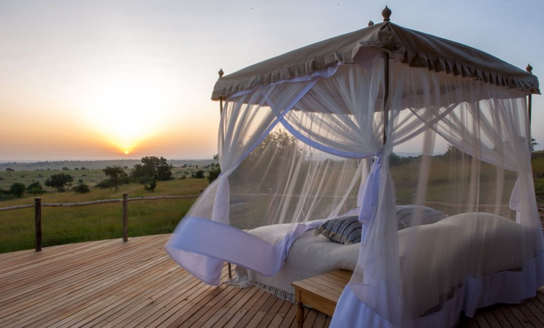 Spend a night under the stars on your private veranda, in your private house at Mkombe's House Lamai.
